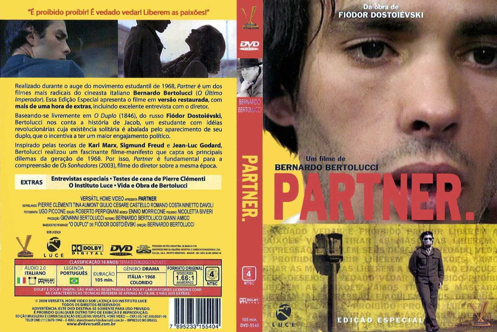 Capa DVD Partner.