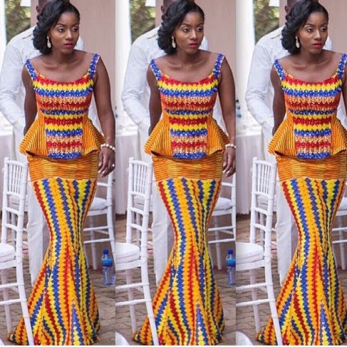 Beautiful Ghana Traditional Wedding Dresses Design Osa 39 S Eye Opinions Views On Nigeria