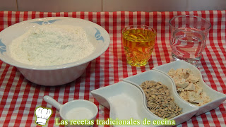 ingredientes rosquilletas con pipas