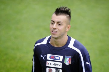 Stephan El Shaarawy Smile Hairstyles Pictures