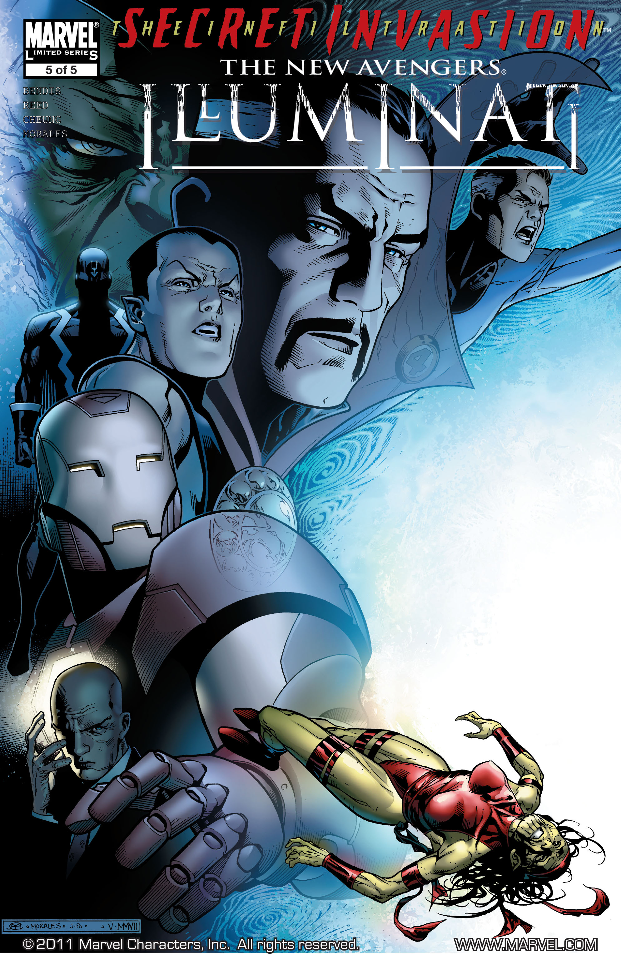 Secret Invasion: The Infiltration issue 2 - Page 1