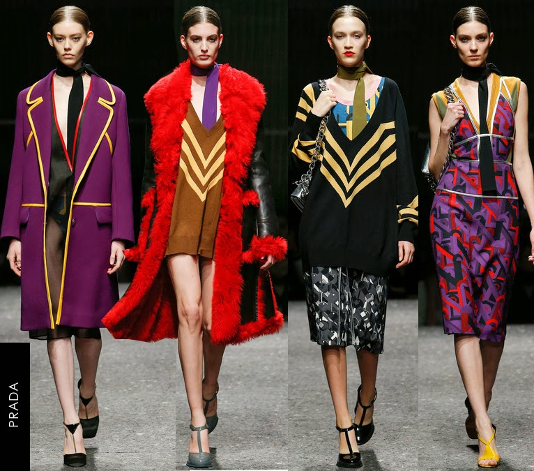prada womens fall 2014