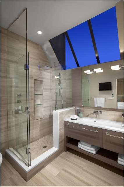 Transitional bathroom design ideas simple home Transitional contemporary
