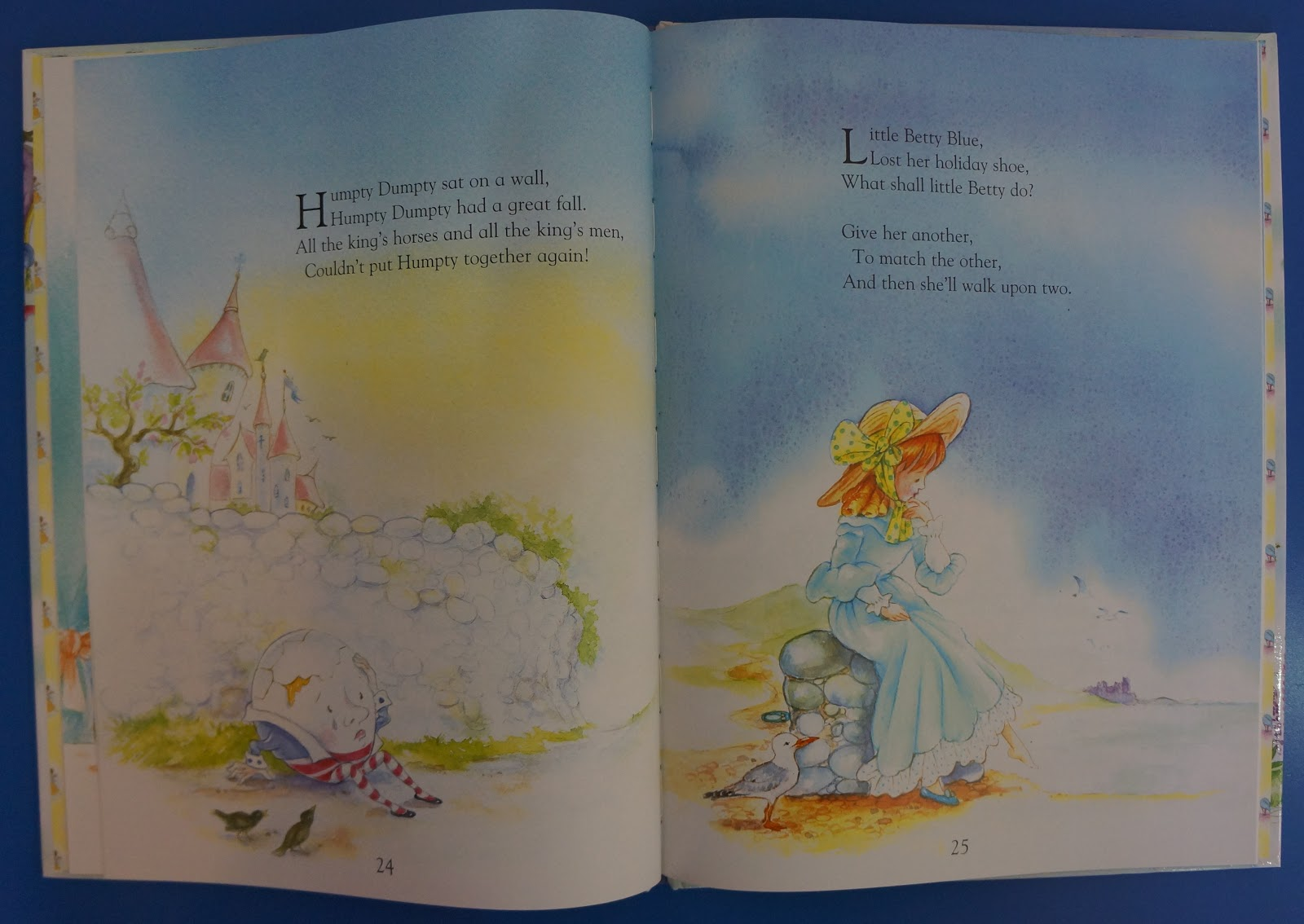 A Charming Collection Of Traditional Nursery Rhymes With Full Colour Ilrations By Gaby Handsen Including Little Miss Et Le Twinlke