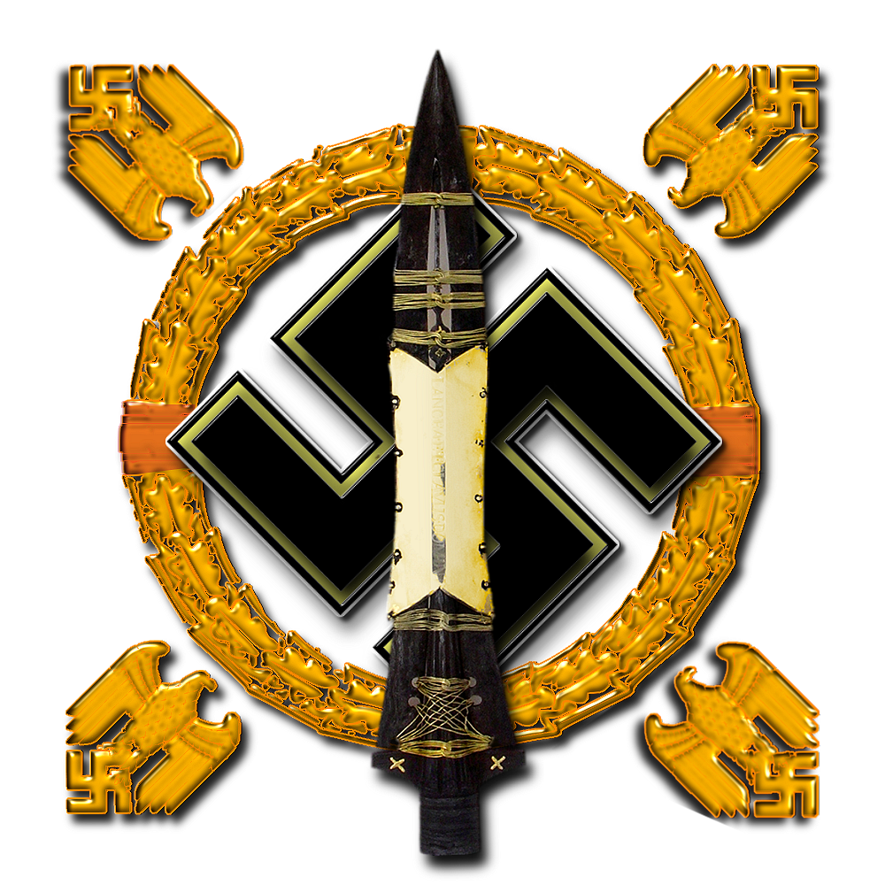 Spear+of+Destiny+Swastika+Wreath+Logo+-+