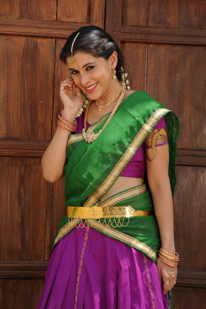Beautiful Maanasi traditional look stills