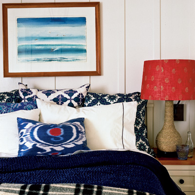 Coastal Style Red White Blue