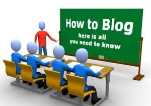 cara membuat blog blogger