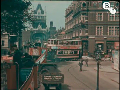 Famous Colour footage of London in the 1920s by Claude Friese-Greene.
