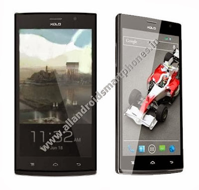 Xolo Q2000 Quad Core 5.5 inch Android 3G Phablet Black Front Photos Images Review