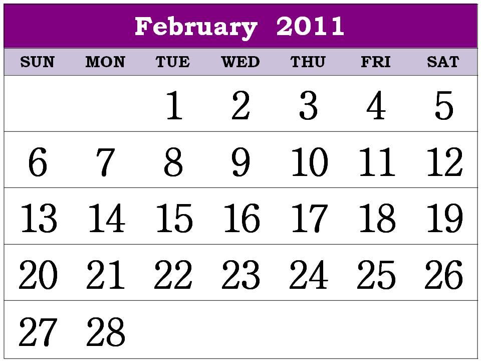 2011 calendar printable february. 2011 calendar printable february. 2011 calendar printable