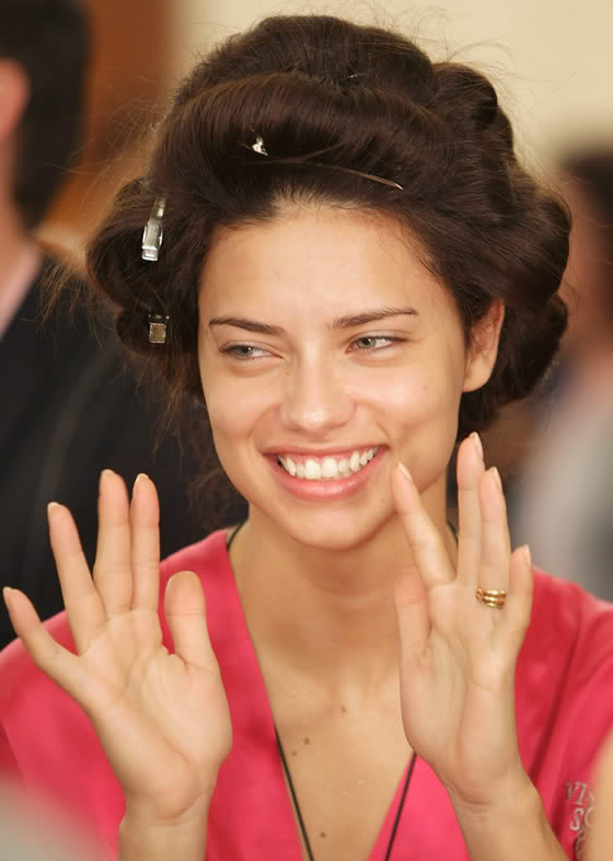 Adriana Lima Without Makeup