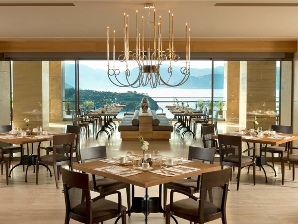 Homebuildlife d hotel maris turkey for Hotel terrace and restaurant