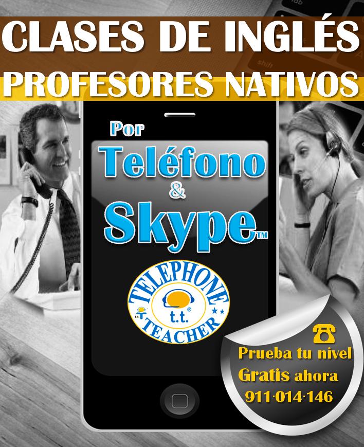Clases por teléfo & skype™