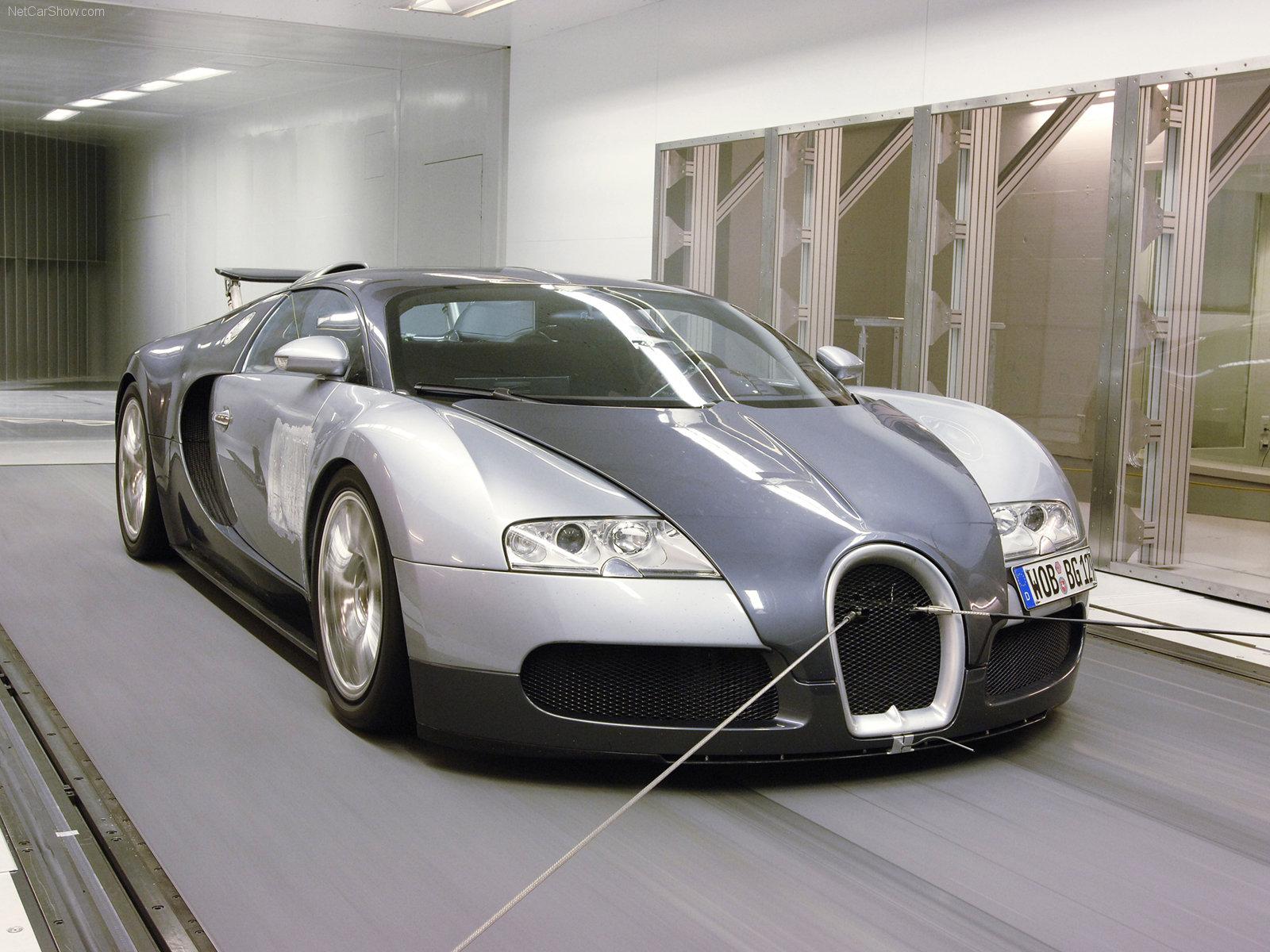 Hình ảnh siêu xe Bugatti Veyron 2005 & nội ngoại thất