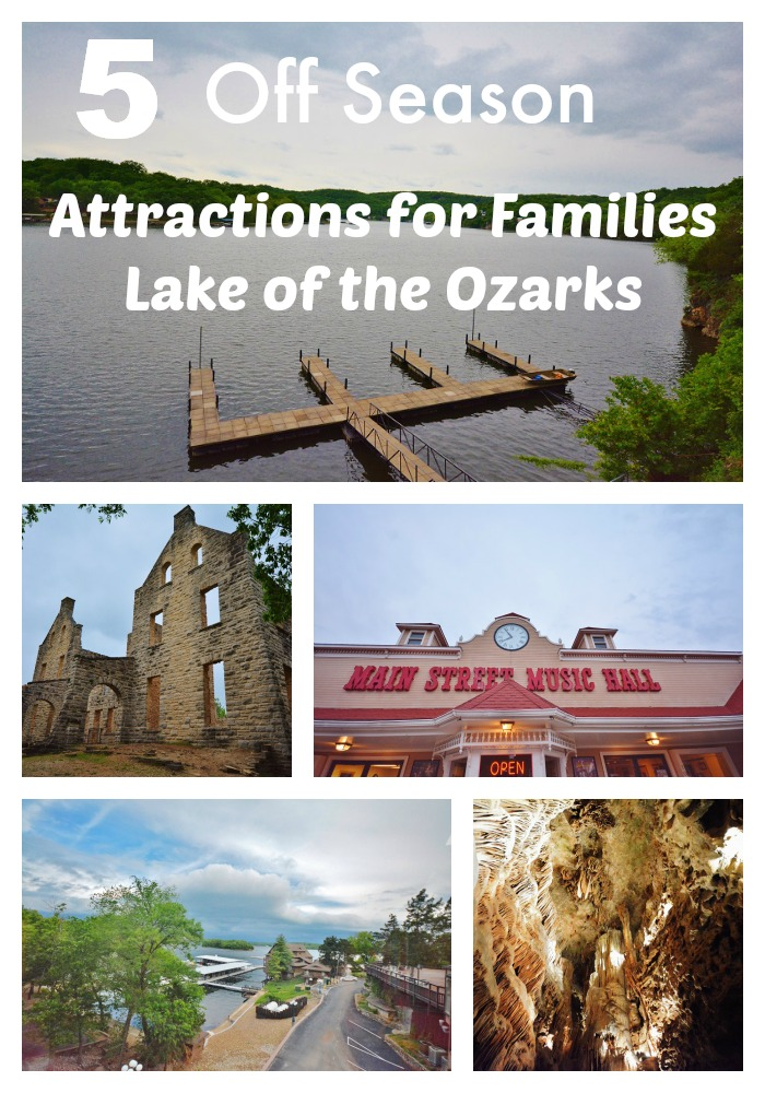 Off season #attractions in the Lake of the Ozarks for families. #travel #familytravel #70DayRoadTrip
