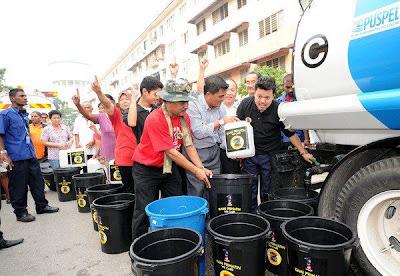 Pengambaran Rahsia Iklan Masalah Air Selangor Untuk Sabotaj Pakatan Rakyat