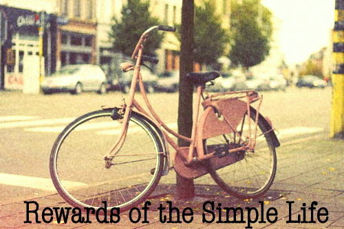 Rewards of the Simple Life