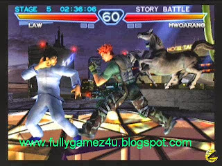 Download Free Tekken 4 Game For PC