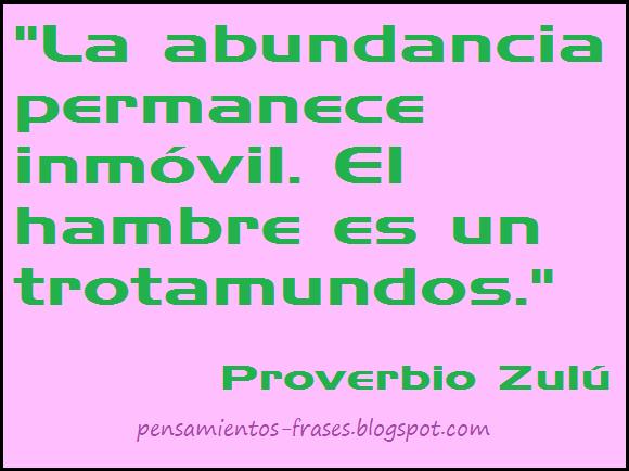 Proverbio Zulú