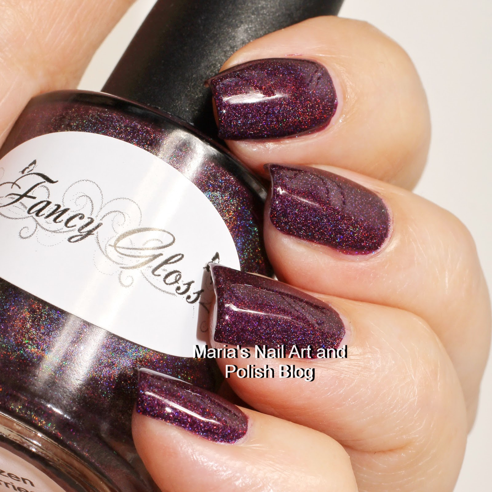 Marias Nail Art and Polish Blog: Fancy Gloss Frozen Berries swatches