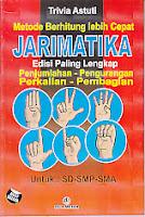 toko buku rahma: buku BUKU PINTAR JARIMATIKA, pengarang trivia astuti, penerbit dua media