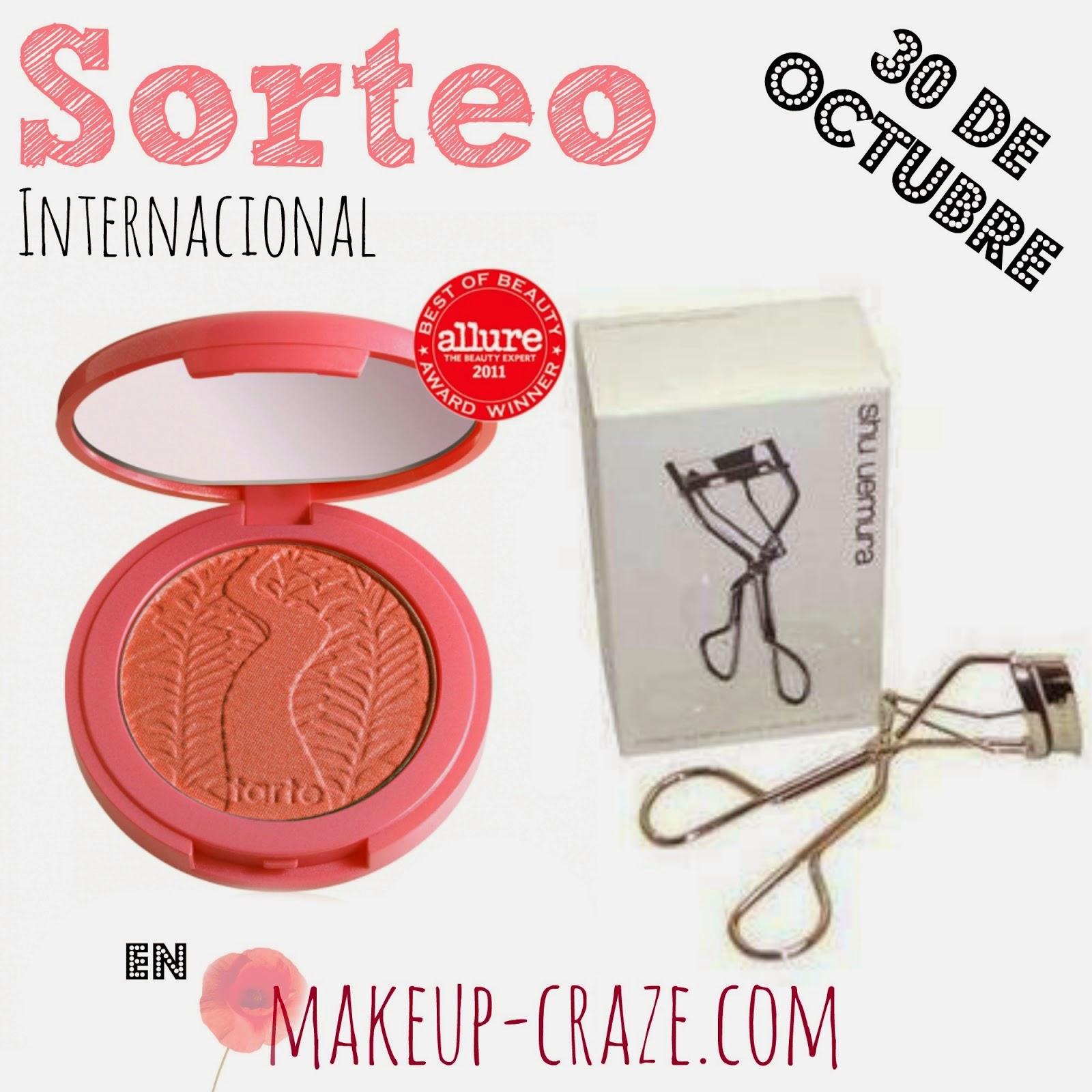 Sorteo en Makeup-Craze.com