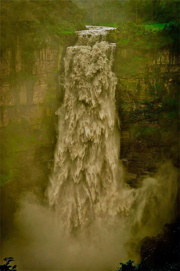 Водопад Текендамо. Колумбия
