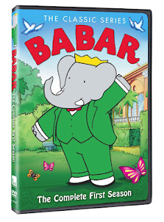 The Complete First Season of Babar on DVD