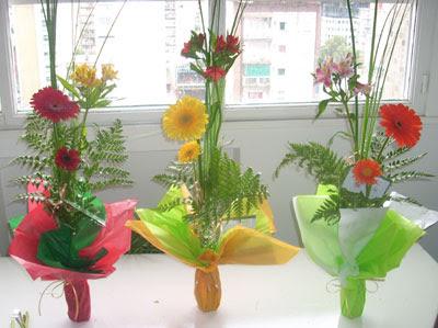 Floreria el girasol abril 2012 - Arreglos florales con flores artificiales ...