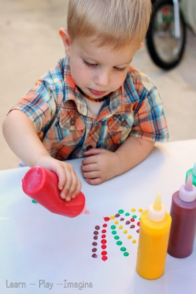 Boosting fine motor skills through art