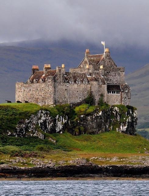 Castelo de Druart, Escócia