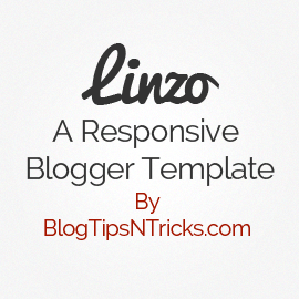 Linzo a Responsive Blogger Theme