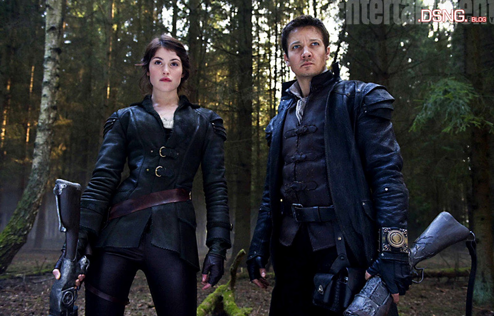 Gemma+Arterton+and+Jeremy+Renner+in+Hansel+and+Gretel+Witch+Hunters ...