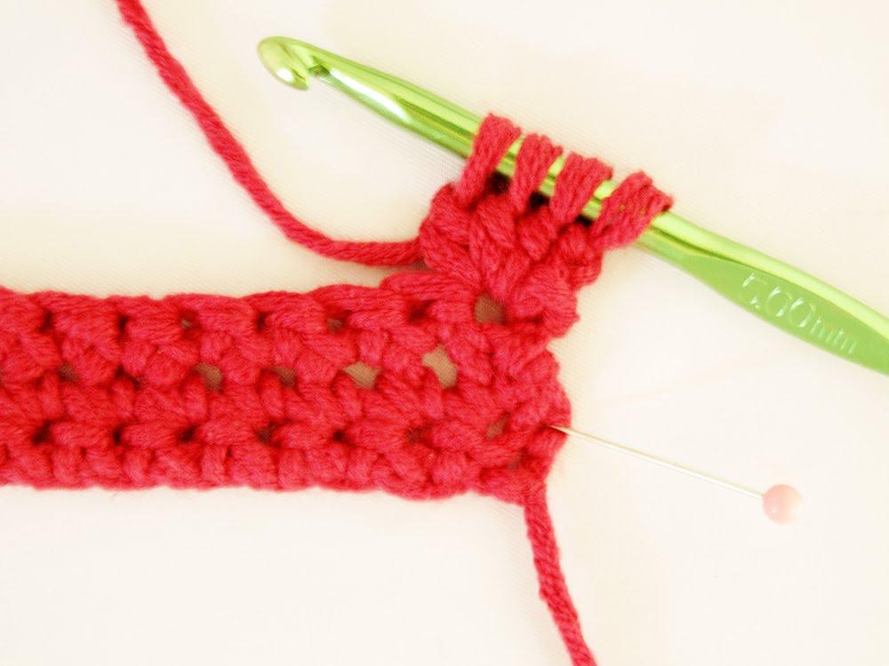 Heidi Bears Crocheted Bobble Edging Tutorial