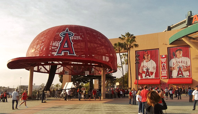 Angels Stadium entrance