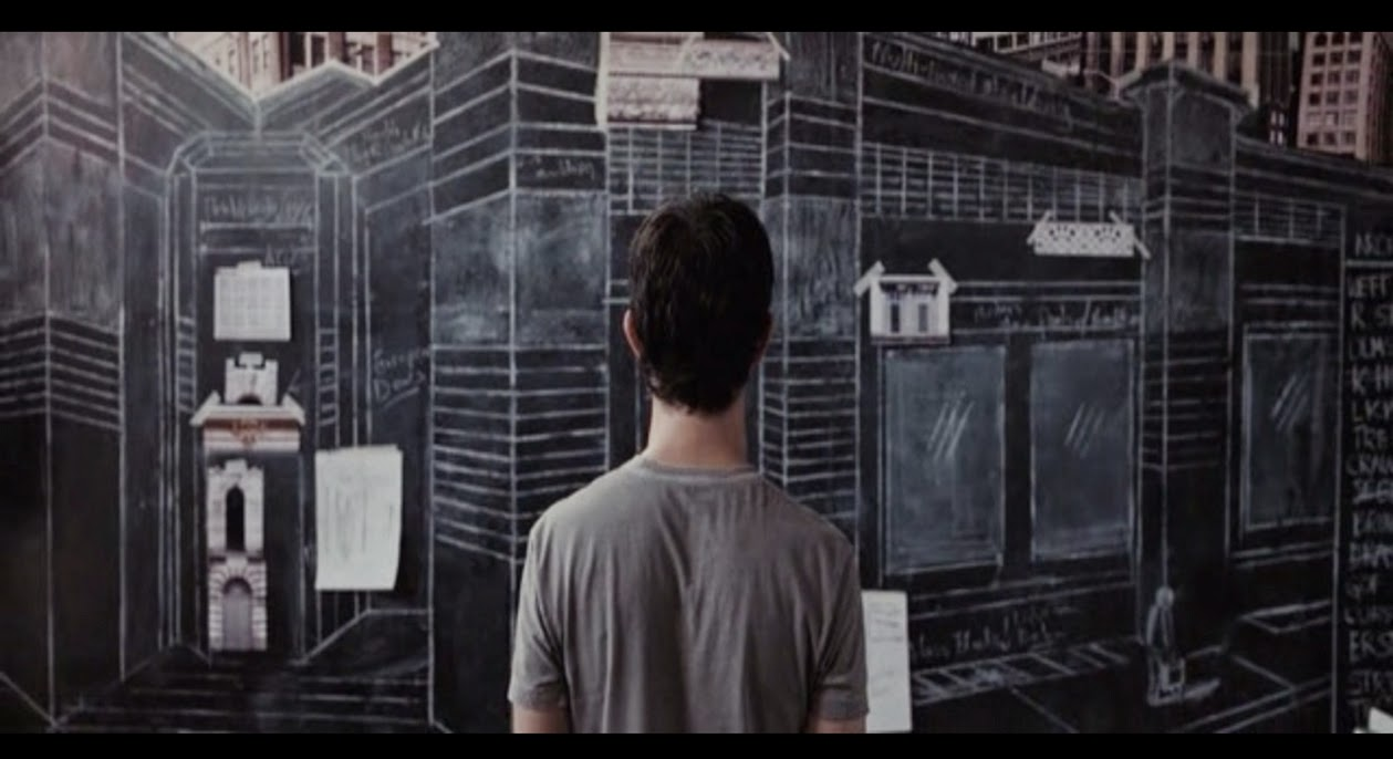 Tom Creates His Own Designs World On A Chalkboard Wall In Apartment