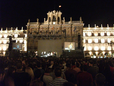 Plaza Mayor | Salamanca | Festas 2012