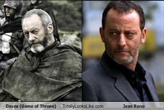 Liam Cunningham - Jean Reno Separated at Birth?