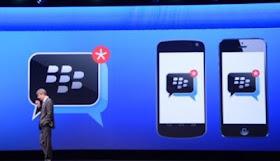 BBM Akan Hadir di iOS dan Android