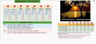 horario bus turistico valencia.Ruta a la Albufera de Valencia
