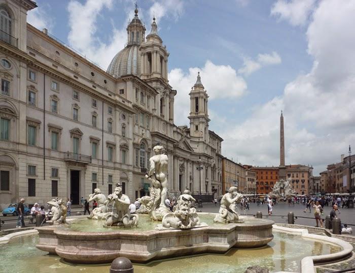 BERNINI e BORROMINI A CONFRONTO: Piazza Navona e Sant'Ivo alla Sapienza