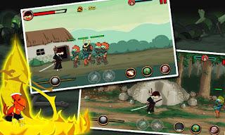 Ninja VS Zombie v1.0 APK: game hành động chặt chém zombie