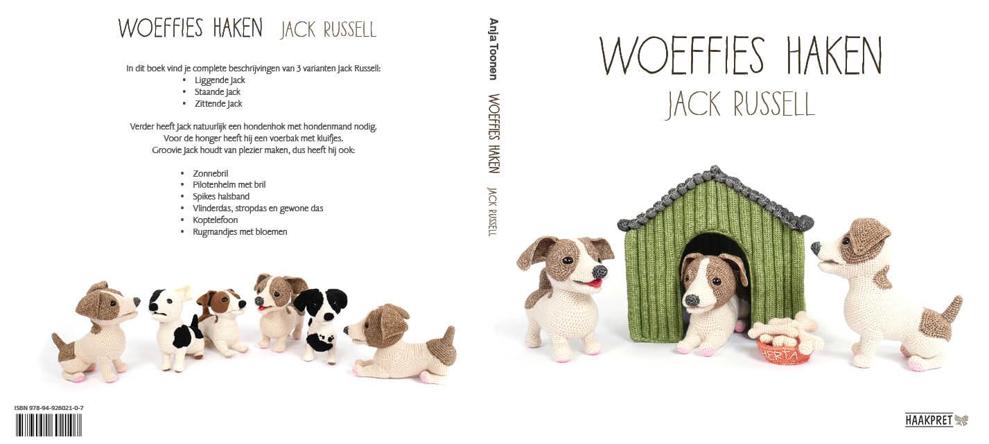 Mijn 17e boek: Woeffies haken - Jack Russell