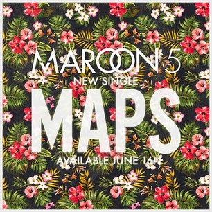 Download Lagu Barat Terbaru Maroon 5 - Maps Lagu Mp3 Gratis