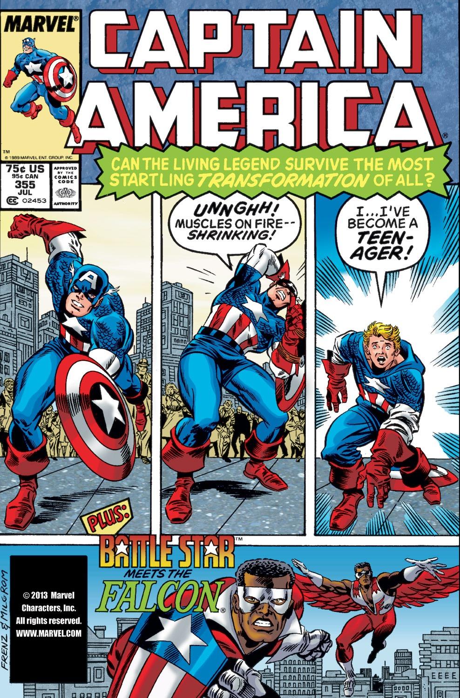 Captain America (1968) Issue #355 #288 - English 1