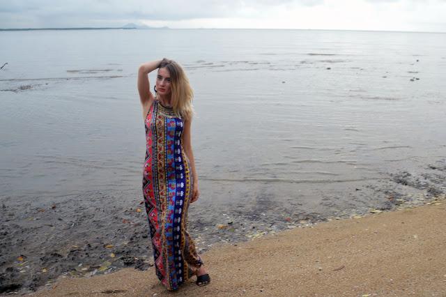 zaful maxi dress