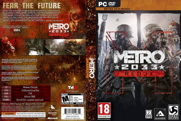 تحميل لعبة Metro 2033 Redux برابط واحد مباشر