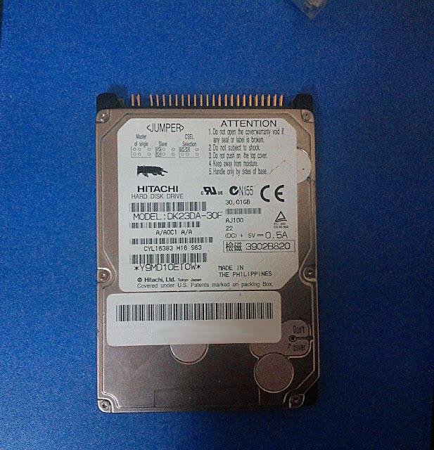 hitachi (HGST) DK23DA-30F hard disk drive pic