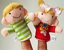 Image: Coromose 6Pcs Soft Family Member Puppet Finger Plush Toys